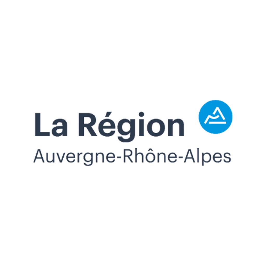 région Auvergne Rhône-Alpes logo réseau
